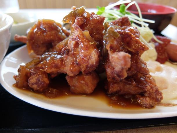 鶏から香味ソース
