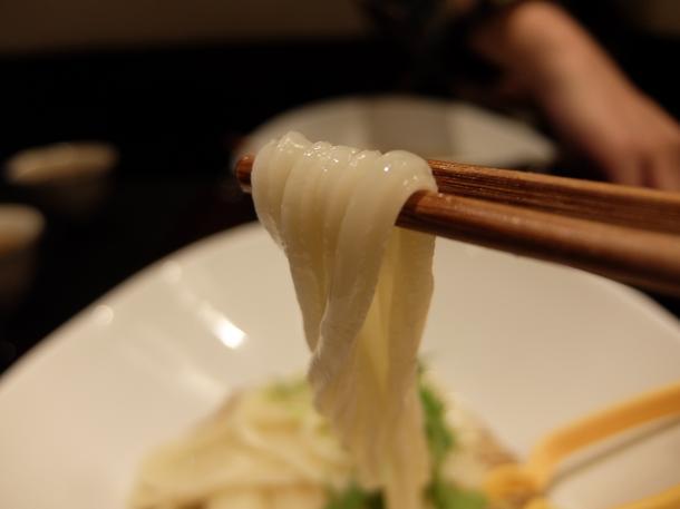 ごま香る坦々つけ麺