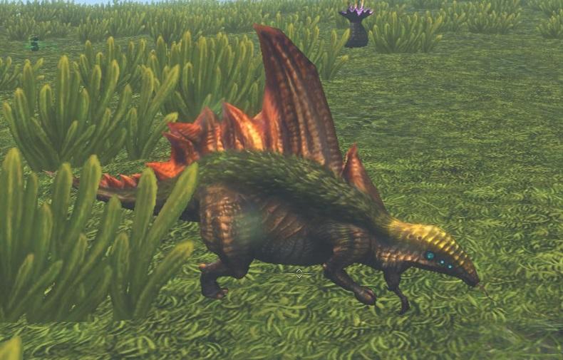 ステゴサウルス?