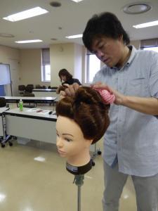 平成26年 秋 アップセミナー 髪飾り#1