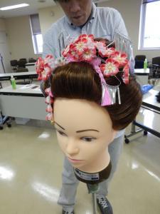 平成26年 秋 アップセミナー 髪飾り#2