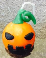 ロウソク粘土☆かぼちゃ2
