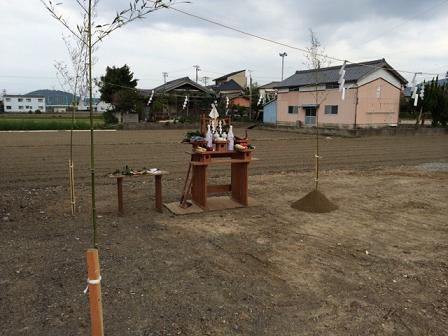 大川邸 地鎮祭