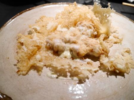 白子のチーズ焼き
