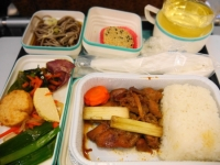 ガルーダ帰国便機内食 和食