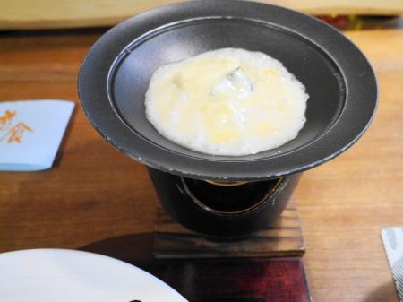 湯葉のチーズ焼き