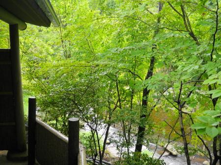 黒川荘 窓からの眺め