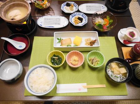 黒川荘朝食