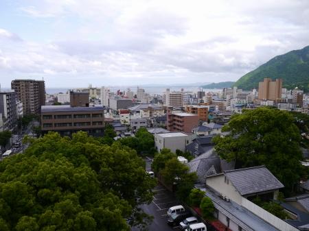 ホテル白菊 別府市街地の眺め