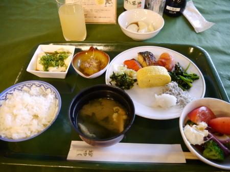 ホテル白菊朝食