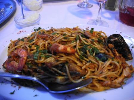 スパゲティマリナーラ