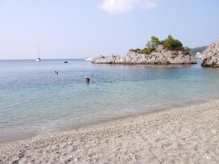 静かな海 スタフィロスビーチ