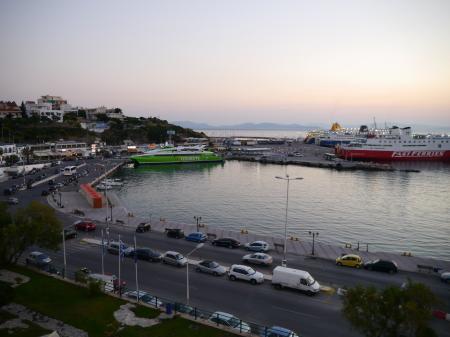 アブラホテルから見るラフィーナ港