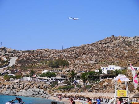スーパーパラダイスビーチ 飛行機