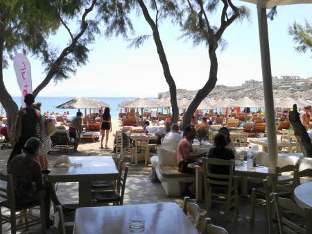 スーパーパラダイスビーチ レストラン
