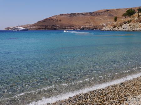 クータラスビーチの海