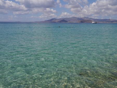 プロコピオスビーチ 海