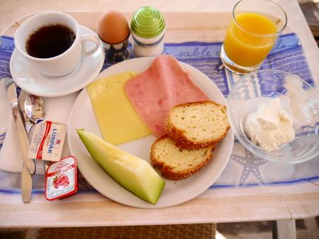 朝食の内容