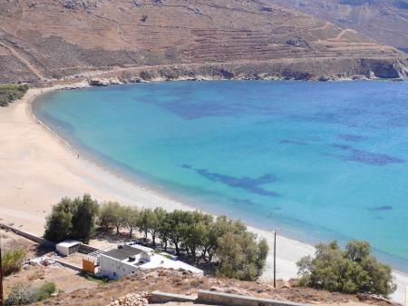 クータラスビーチの全景