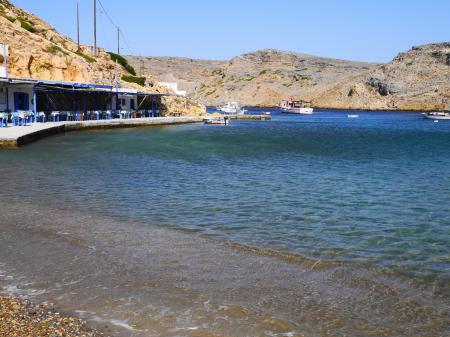 ヘロニソスビーチの海