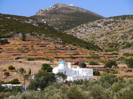 シフノス島の教会