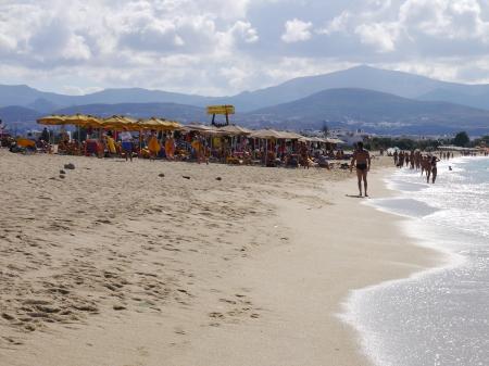 プロコピオスビーチ イタリア人団体