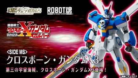 ROBOT魂 クロスボーン・ガンダムX3 b