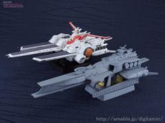 コスモフリート スペシャル 機動戦士ガンダム逆襲のシャア ラー・カイラムの試作品