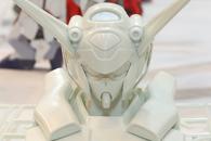 ガンダム G-セルフ ヘッドディスプレイベース(ホビージャパン2014年12月号付録)のテストショットdpt
