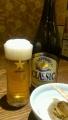 ビール次ぎ方