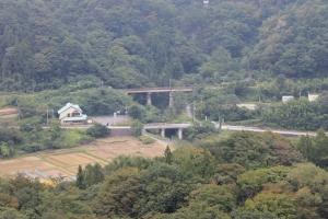 橋の上から(1)