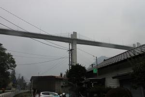 川原湯温泉駅 橋