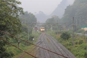 下り電車(1)