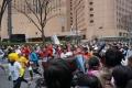 東京マラソン2014(第1コーナー)