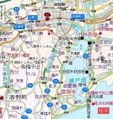 高知桂浜道路01