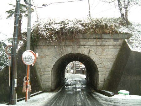 天井川隧道07
