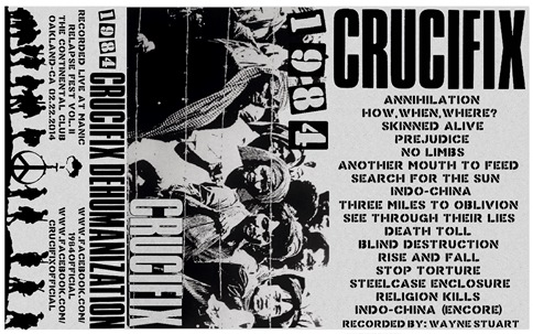1984-crucifix - dehumanization 30 year anniversary insert-full