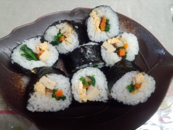 20141010巻き寿司~♪2
