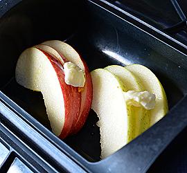 リンゴー準備