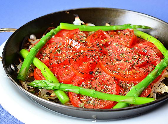 こんがりトマト