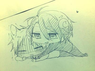 「シバ♡」「うぐぅ…」