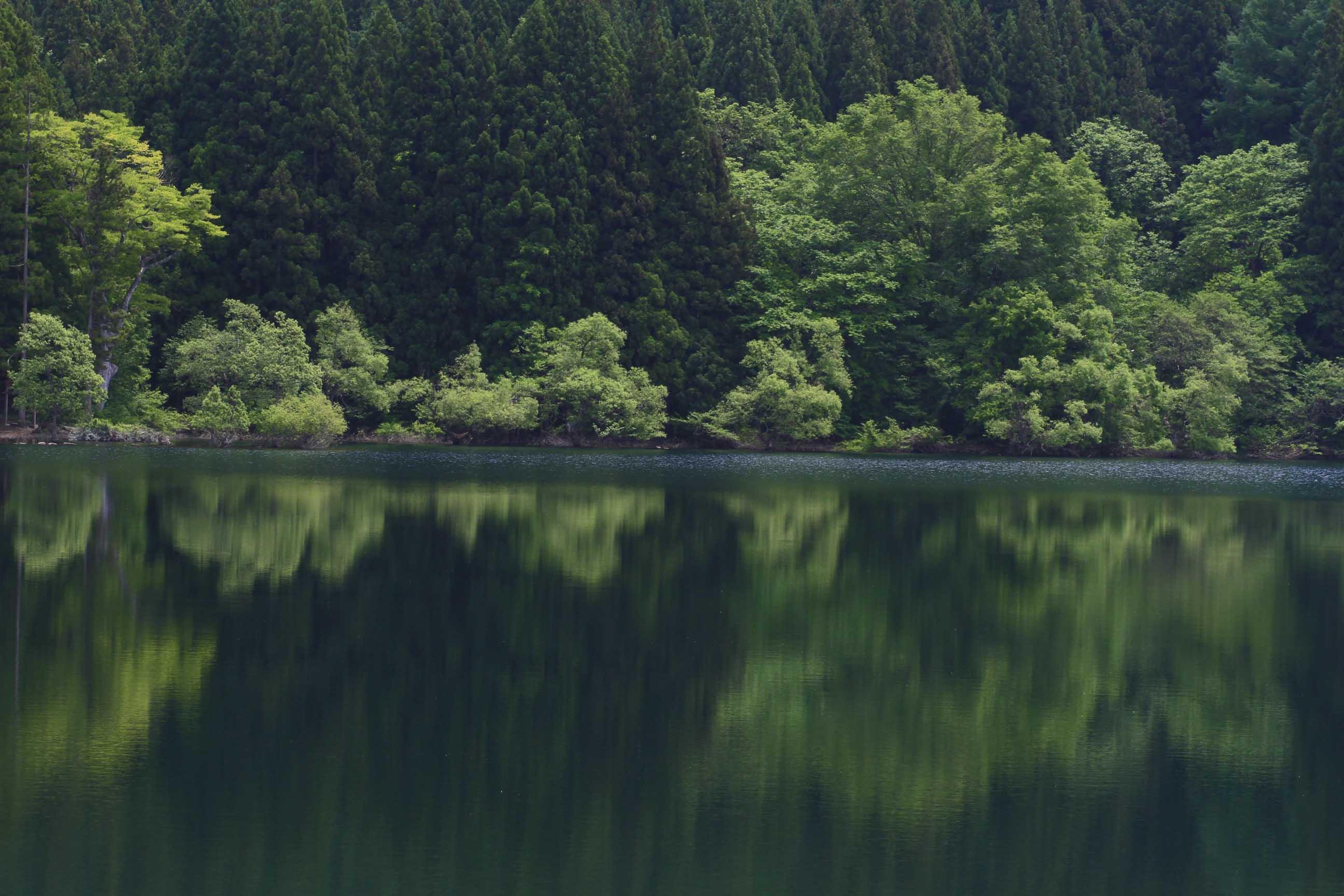 ブログ北竜湖1
