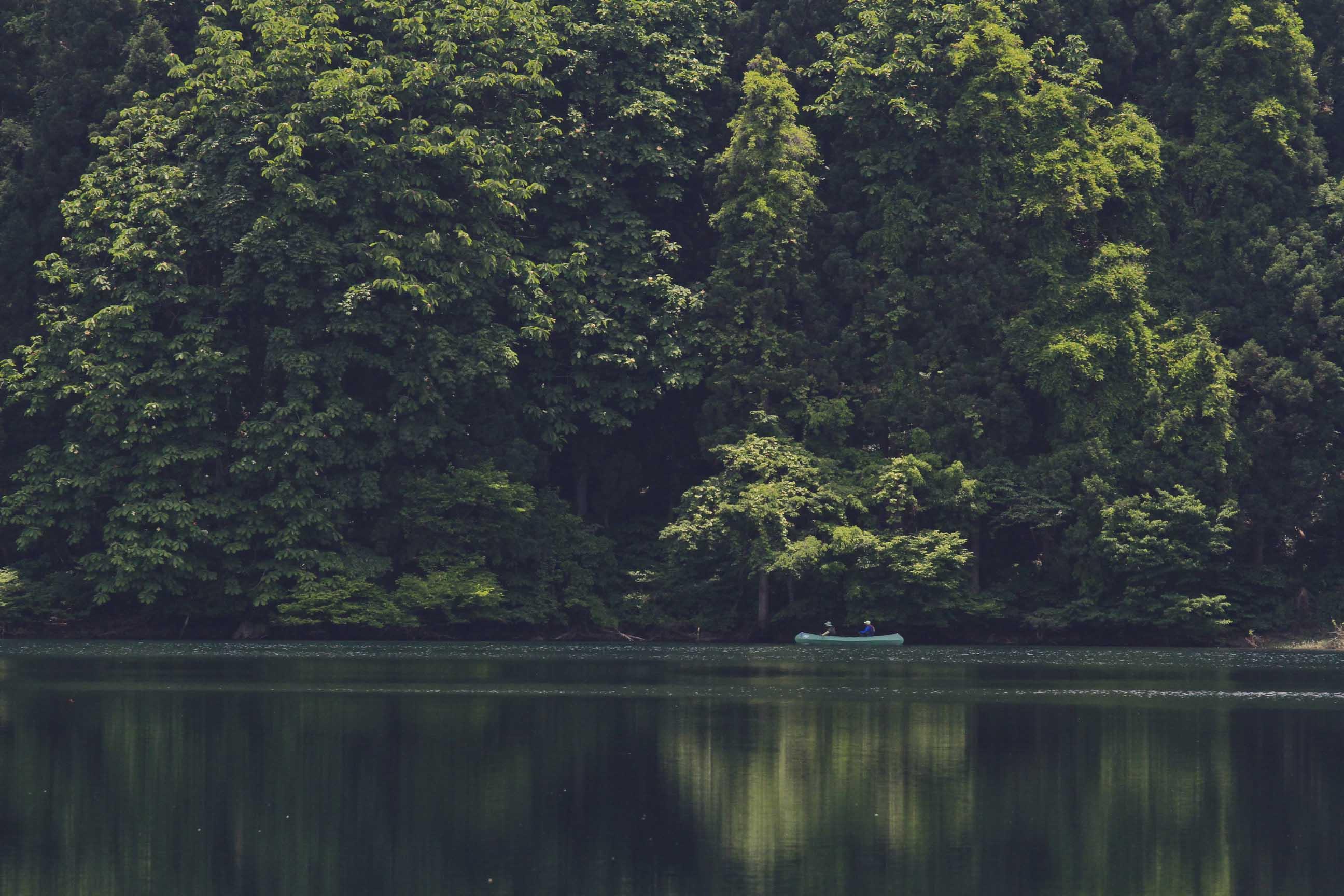 ブログ北竜湖2