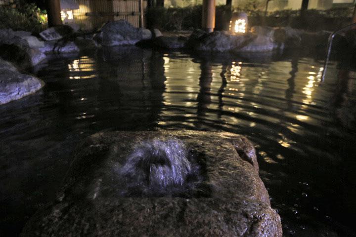 ブログ二人静風呂