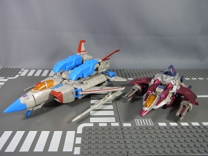 トランスフォーマークラウド スタースクリームと比較もの8963