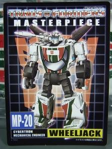 トランスフォーマー マスターピース MP-20 ホイルジャック ロボットモード003