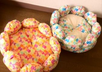 お花ベッド(カラフル)1