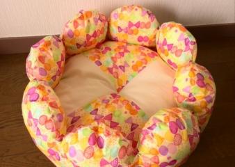 お花ベッド(カラフル)2