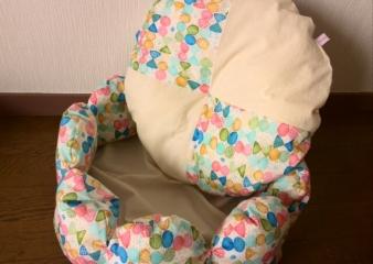 お花ベッド(カラフル)3