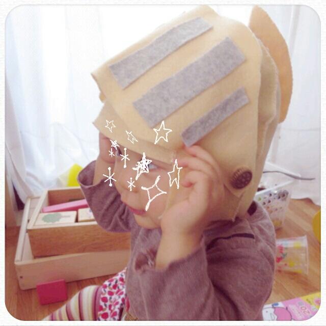 キリリ☆甲冑帽子